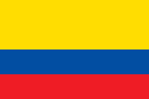 Bandera Ecuador sin insignias